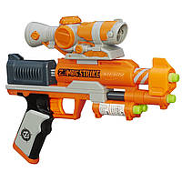Пистолет бластер Nerf с оптическим прицелом - Охота на Зомби