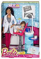Набор Barbie, кукла Барби Афро-американка врач стоматолог, фото 1