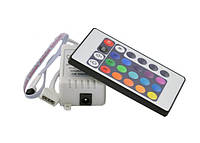 Контроллер IR RGB 6А (24 buttons)