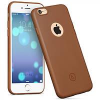 Чехол Hoco Juice series back cover для iPhone 6/6S Plus коричневый, фото 1