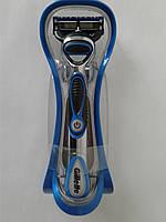 Станок для бритья Gillette Fusion Proglide Power (Жиллет станок + подставка без упаковки и батарейки), фото 1