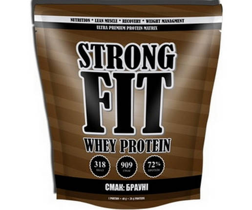 Протеин Strong FIT Whey Protein 909 г, фото 2