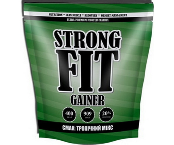 Гейнер Strong FIT Gainer 20 909 г