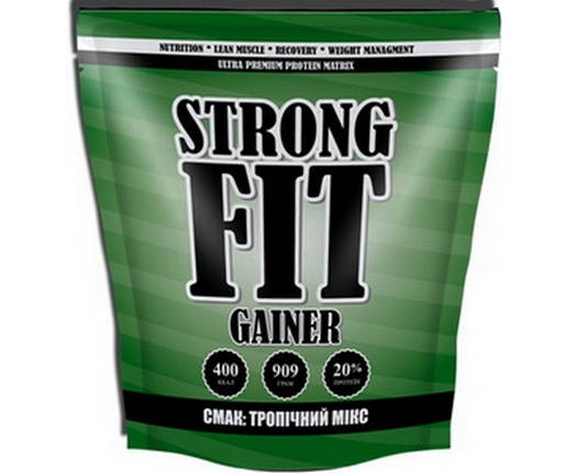 Гейнер Strong FIT Gainer 20 909 г, фото 2