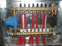 Модульный коллекторный узел для тёплого пола Giacomini