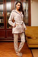 Костюм жіночий 3-ка для дому і сну HAYS 6037