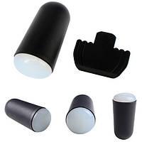 Набор для стемпинга-силиконовый штамп и скребок.