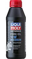 Масло для вилок и амортизаторов Liqui Moly Motorbike Fork Oil Medium 10W 500мл