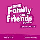 Family and Friends Starter Class Audio CDs 2nd Edition.