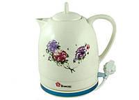 Керамический электро чайник Domotec DT-122 , товары для кухни, стильный дизайн, бытовая техника для кухни