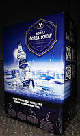 Водка Горбачёв (Wodka Gorbatsghow) 3 литра, 37,5%, тетрапак
