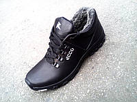 Зимние кожаные мужские кроссовки Ессо 40-45 р-р