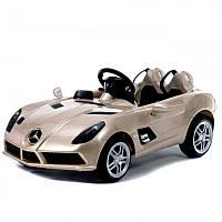 Детский электромобиль Mercedes DMD 158 ERS-3: 2.4G, кожа, 90W, 8 км/ч - ШАМПАНЬ- купить оптом, фото 1