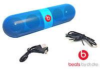 Портативная синяя колонка Beats Pill Bluetooth B11 5 звучания