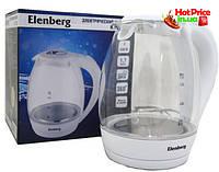 Чайник электрический Elenberg KT 1208 Стекло , товары для кухни, чайник
