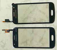 Сенсорний екран для смартфону Samsung S7272 Galaxy, тачскрін чорний