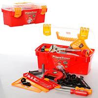 Набор инструментов 2983 (24шт) дрель, молоток, ключи, болты,в чемодане, 32-15-17см