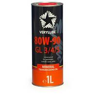 Трансмиссионное масло  Verylube 80W-90 GL 3/4/5  - 1л.
