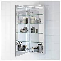 IKEA ГОДМОРГОН Зеркальный шкаф с 1 дверцей : 10230227, 102.302.27