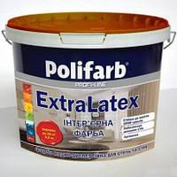 Краска POLIFARB Экстра Латекс белый 4,2 кг(Polifarb)