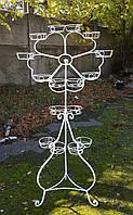 Цветок-2, подставка для цветов на 16 чаш