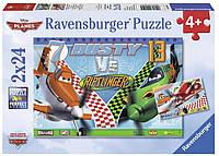 Пазл Ravensburger Храбрый самолет Дасти 2х24 элементов (RSV-090525)