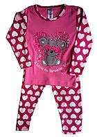 Детская пижама со штанишками «Мишка», 4-6 лет, Турция, оптом