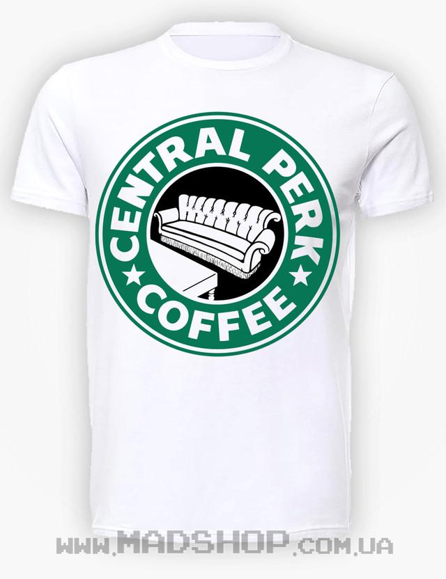Футболка Friends Central Starperks coffee купить