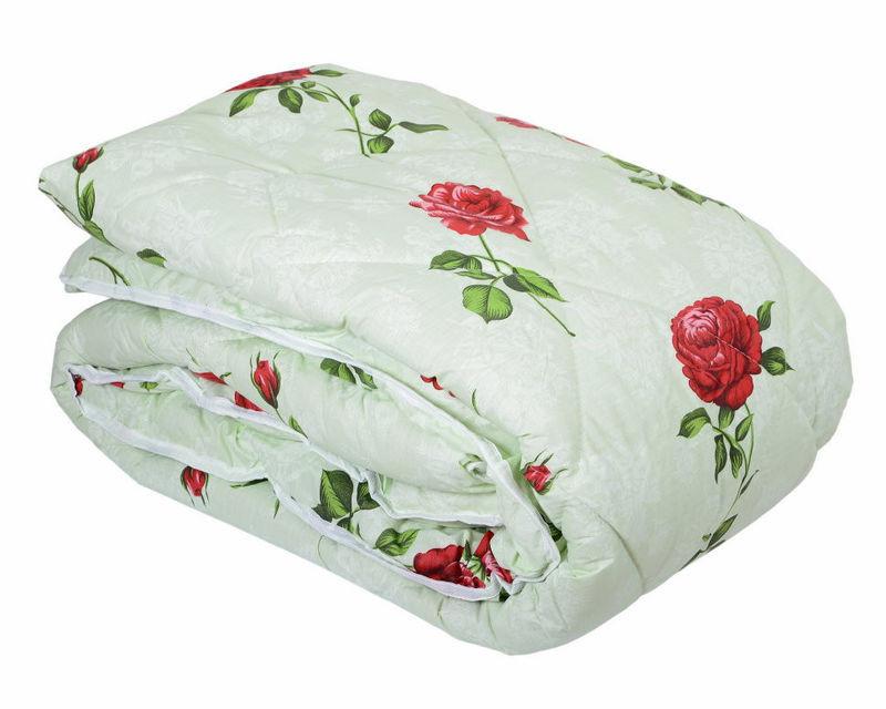 Одеяло закрытое овечья шерсть(Бязь) двухспальное