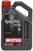 Моторное масло Motul Specific RBS0-2AE 0W-20 1л