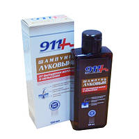 Луковый  шампунь 911 от выпадения волос и облысения, 150мл