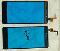 Lenovo A6000 A6010 K30 сенсорний екран, тачскрін чорний