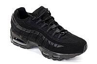 Мужские кроссовки Nike Air Max 95 Triple Black, фото 1