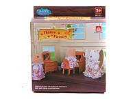 Животные флоксовые Happy Family, письменный стол, в короб.12*14*5см ()