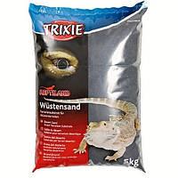 Trixie пустынный песок для террариума(чёрный)5кг