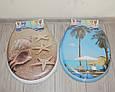 Сиденье мягкое с крышкой для унитаза  Aqua Fairy Classic, белая, фото 2