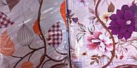 Скатерть кухонная сиреневые цветы