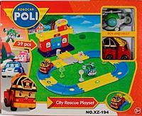 Автотрек- Пожарная станция Роя Poli Robocar, фото 1