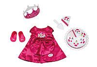 Костюм на День Рожденья для куклы Baby Born Zapf Creation 820681