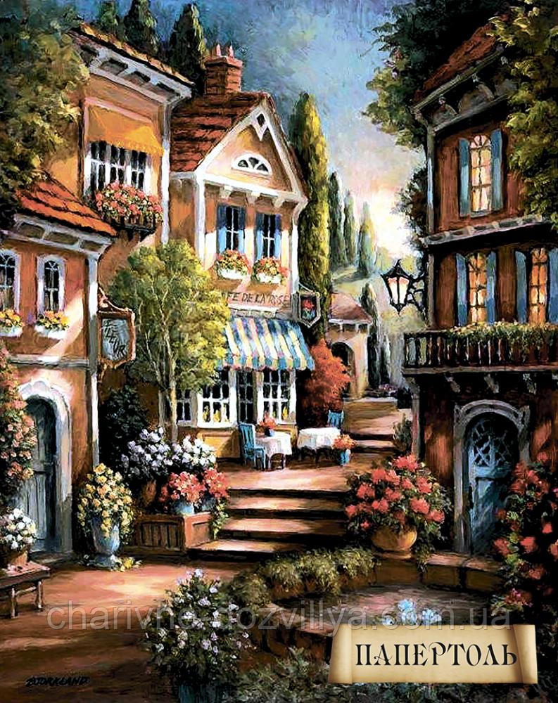 """Наборы для изготовления картин в технике Папертоль """"Цветущий переулок-1"""""""