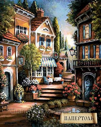 """Наборы для изготовления картин в технике Папертоль """"Цветущий переулок-1"""", фото 2"""