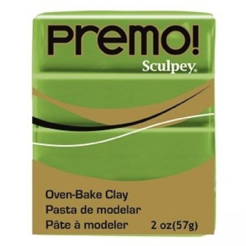 Sculpey Premo Премо (США, Полиформ), 56 г,оливковый 5007
