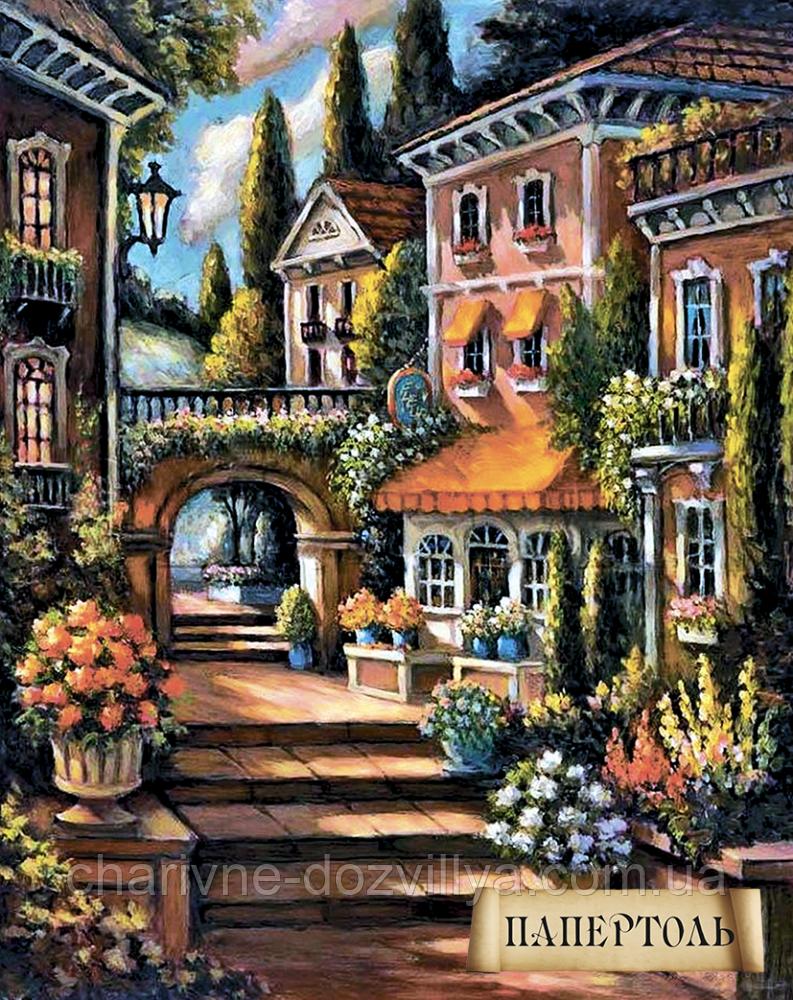 """Наборы для изготовления картин в технике Папертоль """"Цветущий переулок-2"""""""