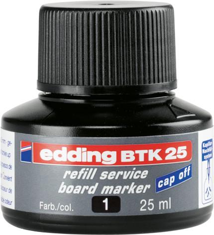 Чернила для маркеров для досок edding e-ВТК25 черные