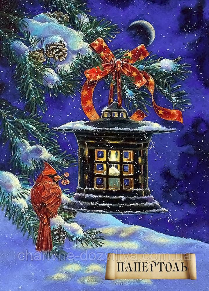 """Наборы для изготовления картин в технике Папертоль """"Рождественский огонек"""""""