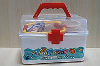 Набор Доктора игровой 27 предметов в чемодане 23,5*15,5*15,5 см