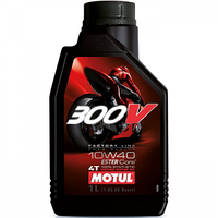 Моторное масло Motul 300V 4T Factory Line Road Racing 10W-40 1л