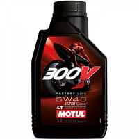 Моторное масло Motul 300V 4T Factory Line Road Racing 5W-40 1л