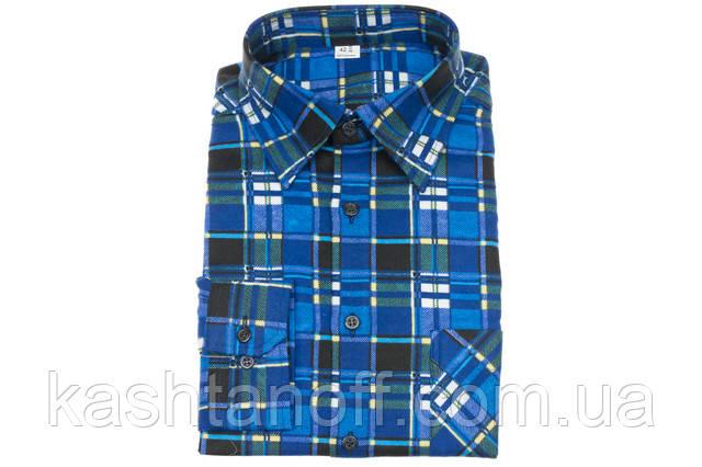 Фланелевая рубашка Каштан