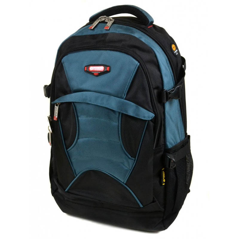 Power in Eavas 45L (8705) черный с голубым